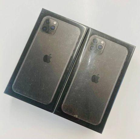 Apple iPhone 11 Pro Max 64GB Space Gray / Czarny - nowy, gwarncja