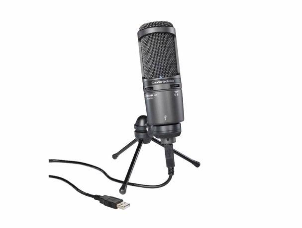 AUDIO TECHNICA AT 2020 USB plus -Mikrofon Studyjny