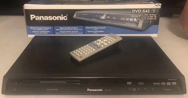 _|_ Panasonic DVD-S42 / DVD w idealnym stanie / Pilot w komplecie.