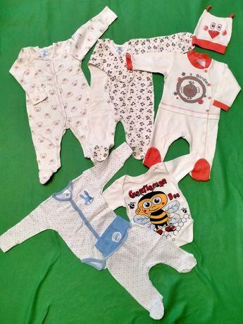 Набір дитячого одягу. Набор человечков 62 р