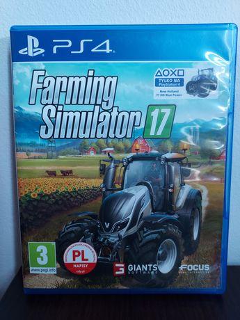 Farming Simulator 17 PS4 PL stan idealny