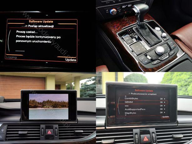 Polskie Menu Audi Concert MMI 3G Basic High Plus A4 B8 A5 A6 C7 MAPY