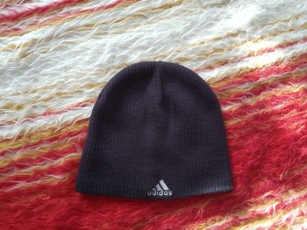Шапка Adidas адидас оригинал черная мужская зимняя спортивная