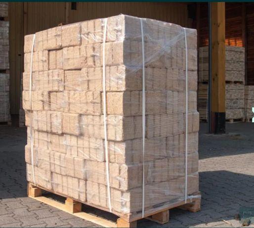 Brykiet 100% BUKOWY kostka RUF PELLET producent