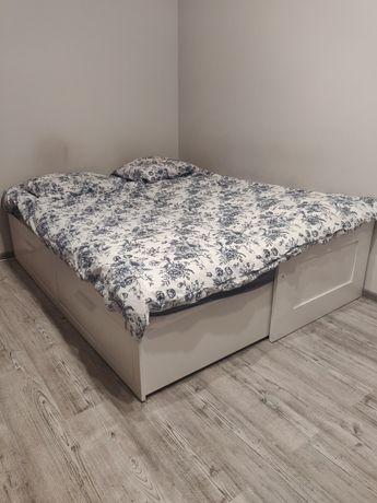 Łóżko Ikea jedno/dwuosobowe 80/160x200 używane stan dobry 2 materace
