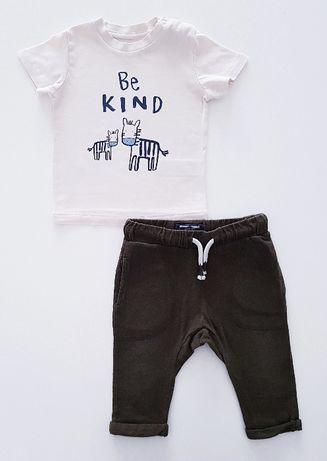 Zestaw bluzka + spodnie 74