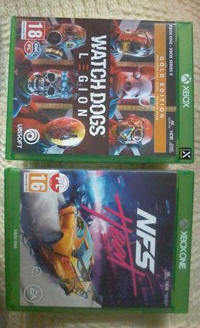 Watch Dogs Legion I NFS Heat XBOX ONE (Sprzedam 130 ZŁ).