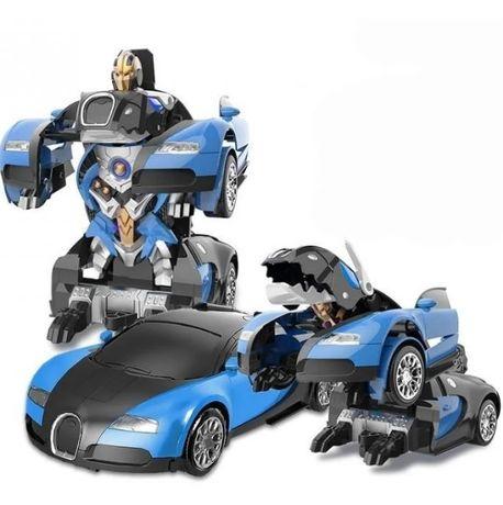 Машинка Bugatti Veyron. Крутой трансформер и машинка, 2 в 1 !