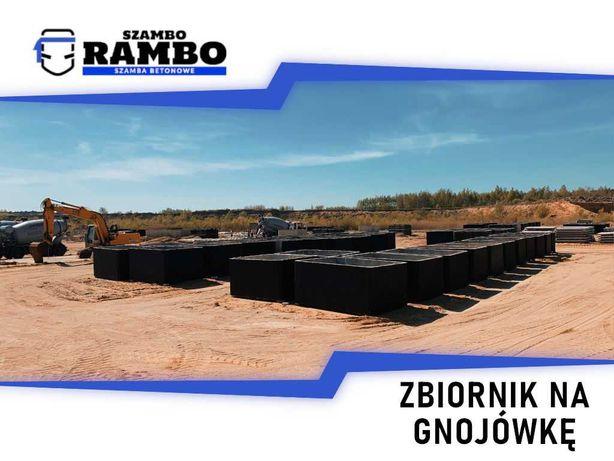 Zbiornik Betonowy 8m3 Na Gnojówkę Wodę Deszczówkę Szambo Betonowe