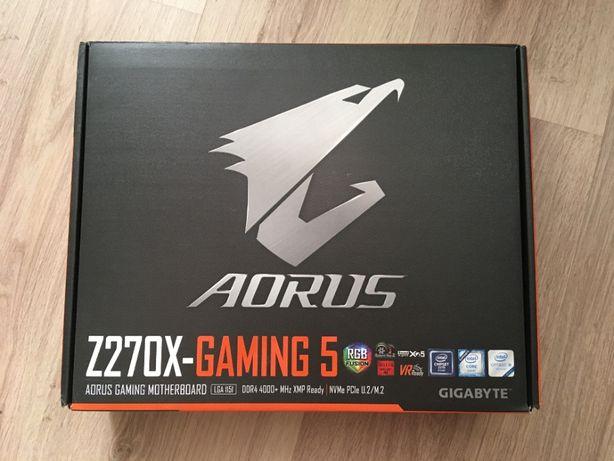 Материнская плата Gigabyte Z270X-Gaming 5 + core i5 6600k
