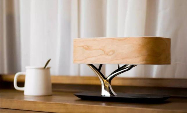 Lampka Nocna Ładowarka Indukcyjna Głośnik Bluetooth