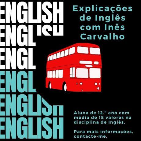 Explicações de Inglês - crianças e adultos online