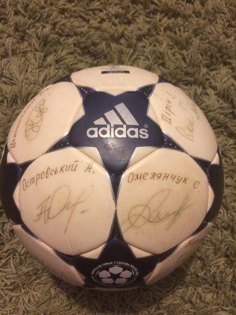 эксклюзивный футбольный мяч с автографами ФК Арсенал Киев