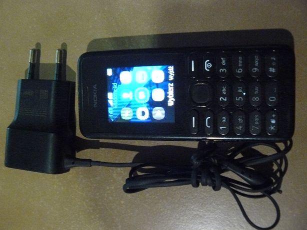 Telefon Nokia z ładowarką 2x sim