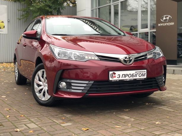 Toyota Corolla с ндс 2016 1.6 AT з ПДВ