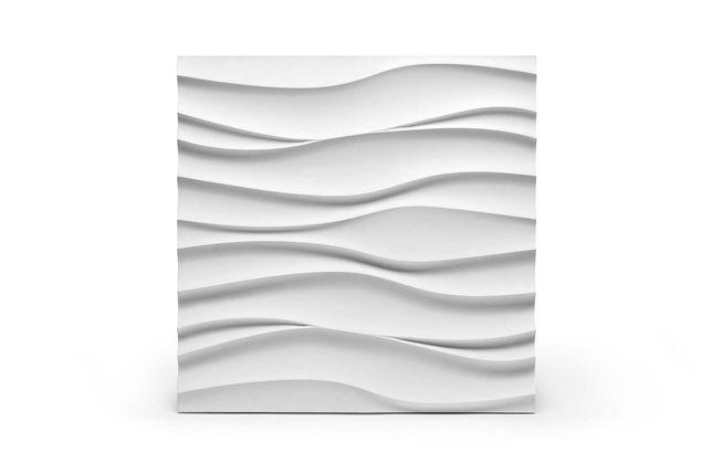 PANEL ścienny FALA EBL 3D gipsowy kamień dekoracyjny