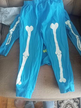 Пижама скелет Lupilu , светящаяся ! На рост 98-104