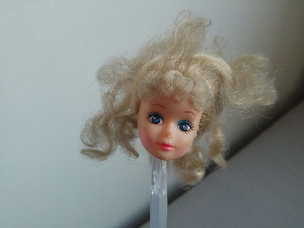 Lalka vintage jak Barbie głowa lalki główka do ooak repaint stara cute