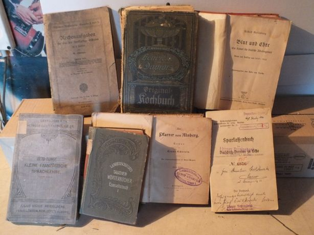 Niemieckie książki z 1940 r.