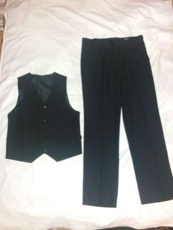 Школьный костюм двойка жилет брюки Турция размер 36