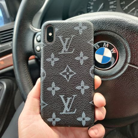 Кожаный чехол Louis Vuitton iPhone 6/S/7/8/Plus/X/XS/XR/11/Max/Pro
