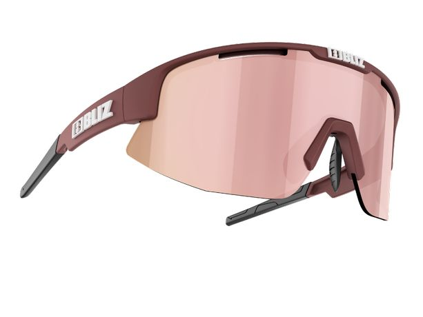 Okulary sportowe BLIZ Matrix Small 2021 - Burgundy / nowe, FV