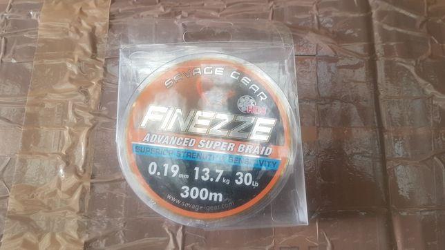 Plecionka HD8 Savage Gear Finezze 300m