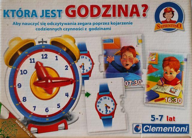 Gra: Która jest godzina? Clementoni