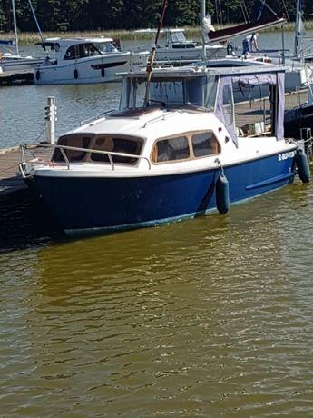 Łódź motorowa waterland, kabinowa houseboat + Laweta!!!