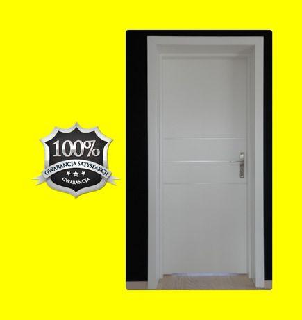 Drzwi ZEWNĘTRZNE wejściowe do bloku z montażem. ANTYWŁAMANIOWE!