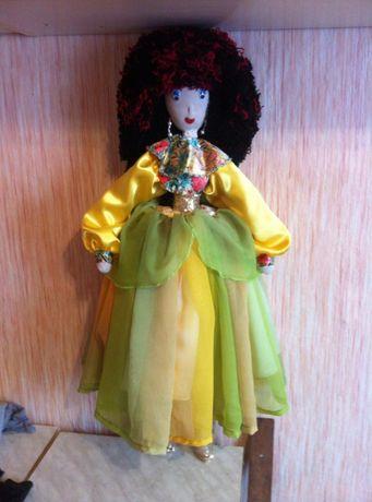 Эксклюзив! Шикарные авторские текстильные куклы интерьерные