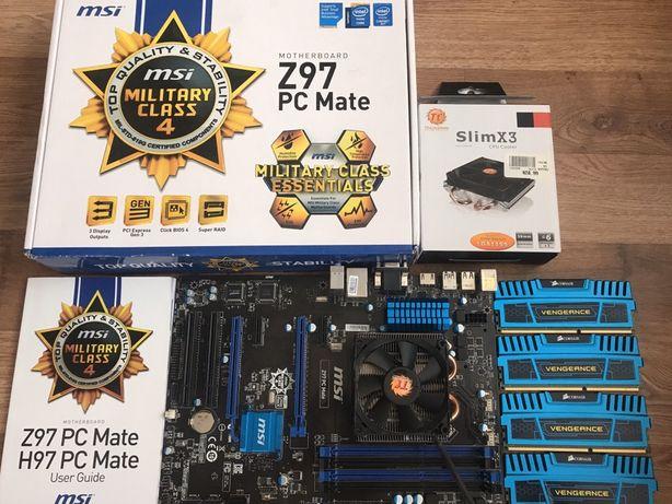 Z97 PC Mate + intel 4570 3.20 + ddr3 16gb