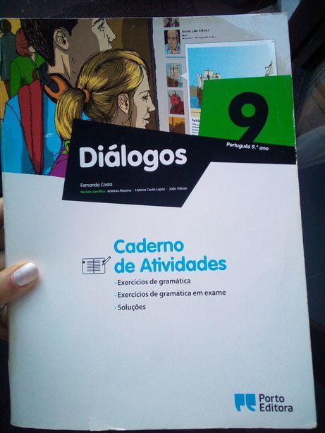Caderno de atividades do 9° ano-Diálogos