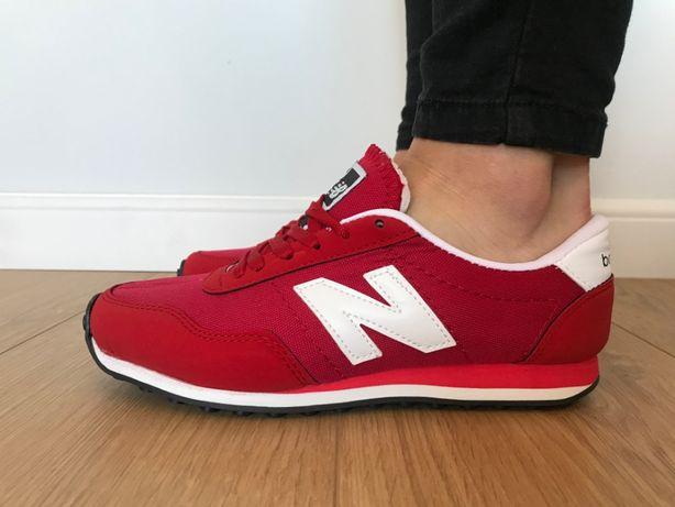 New Balance 410. Rozmiar 36. Czerwone - Białe. NOWOŚĆ
