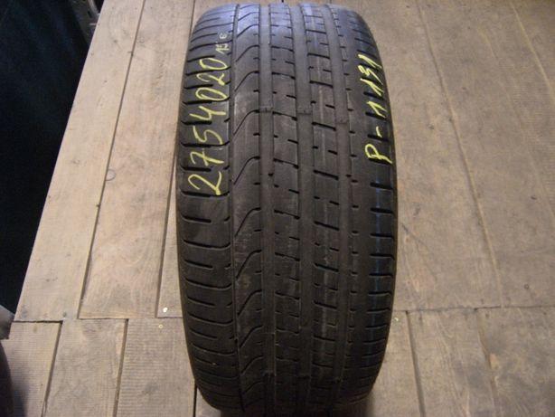 275/40/20 Pirelli P Zero pojedynka run flat
