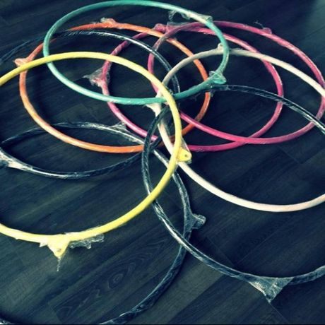 Koło Cyrkowe - Aerial Hoop do ćwiczeń, akrobatyki, fitness