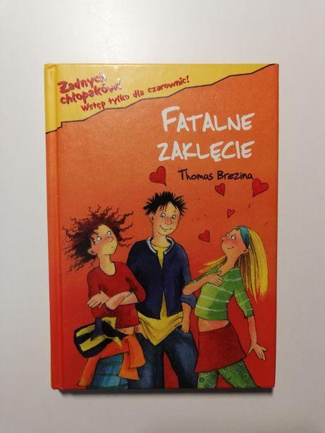 Książka Fatalne zaklęcie Thomas Brezina dla nastolatek