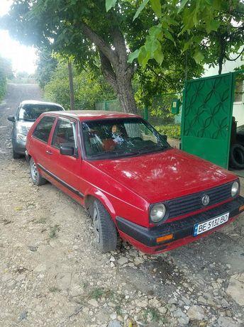 Volkswagen golf 2 (1987год)