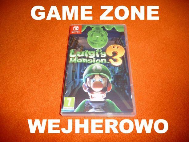 Luigi's Mansion 3 Nintendo SWITCH = Wejherowo = MEGA HIT !