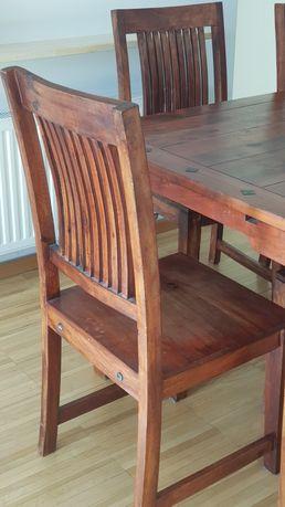 Krzesła komplet 6szt Jysk