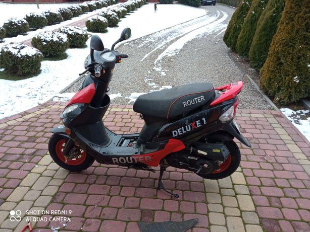 Romet motors GY02a 50cm 137 km przebiegu