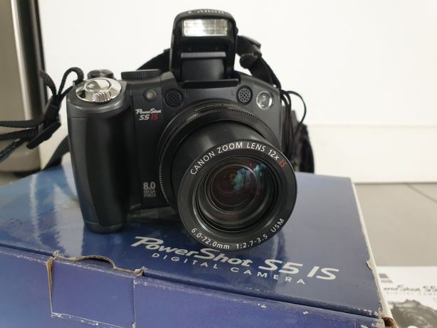 Aparat Canon PowerShot S5 IS 8MP 12X Zoom