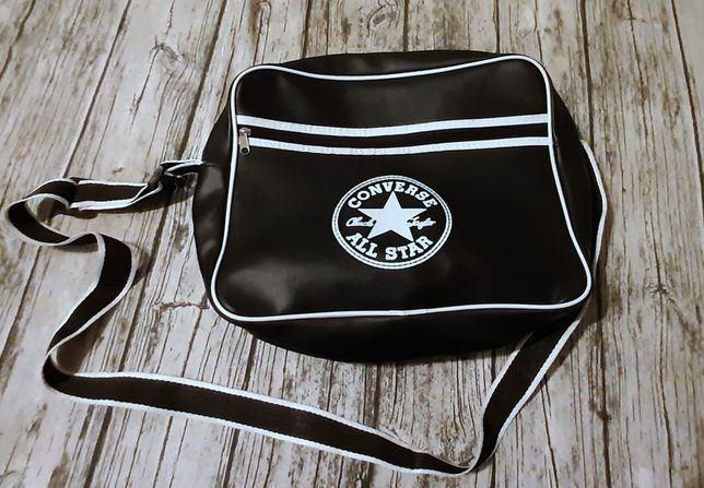 Converse All Star czarna, duża torba