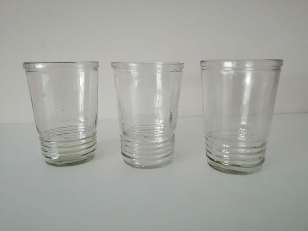 Szklanki szkło prl
