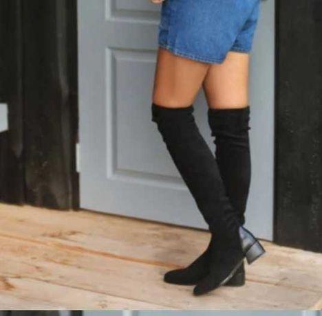 Ботфорты женская обувь  осень-зима
