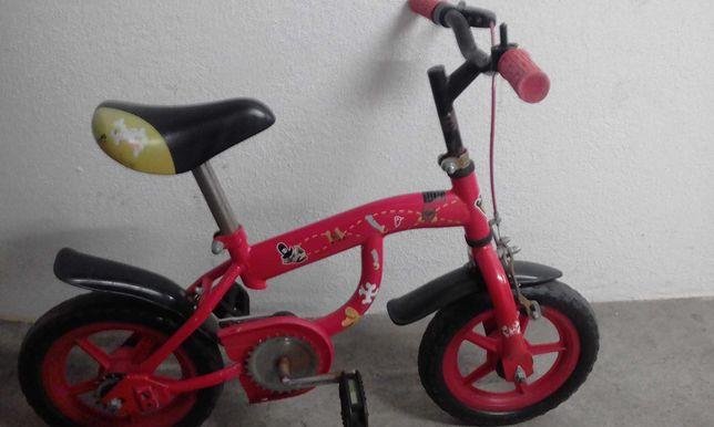 Bicicleta gira usada