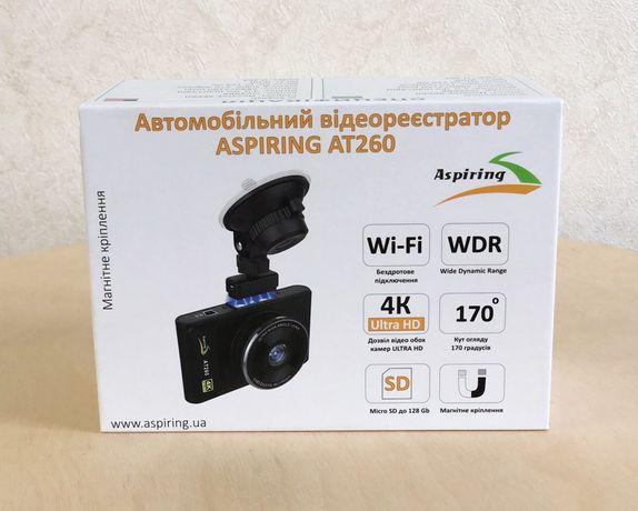 Продам Видеорегистратор Aspiring AT260 WI-FI 4K ULTRA HD