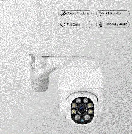 Camara vigilância wi-fi
