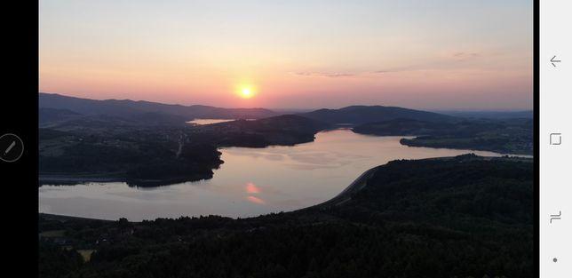 Działka rekreacyjna 23ary Zembrzyce, Jezioro Mucharskie