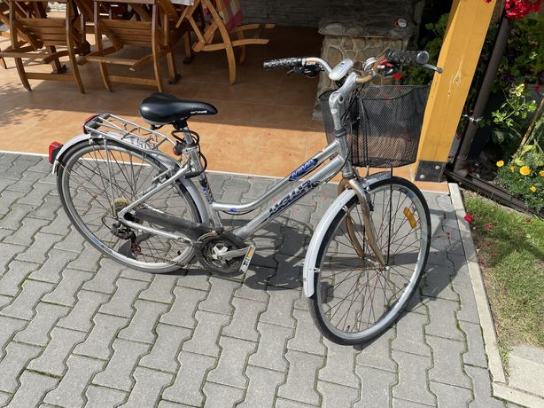 Rower damski aluminiowy